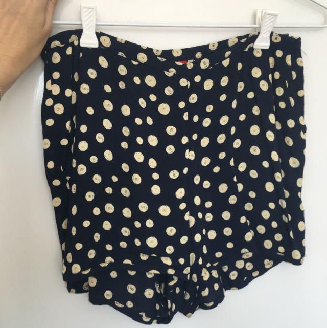 Tigerlily Polka dot Shorts