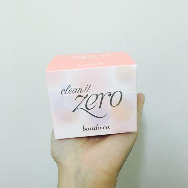 Zero卸妝霜