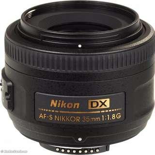 Nikon 35mm f/1.8 DX