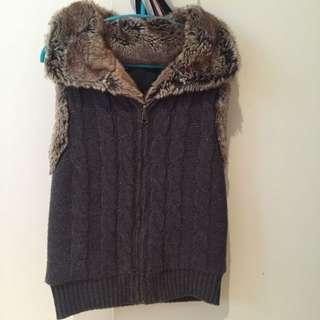 Wish Faux Fur Vest