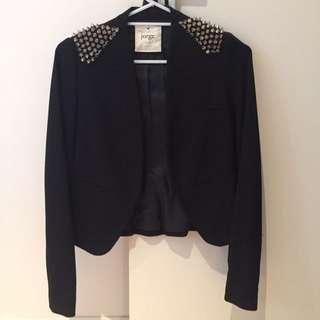 Jorge Studded Shoulder Jacket