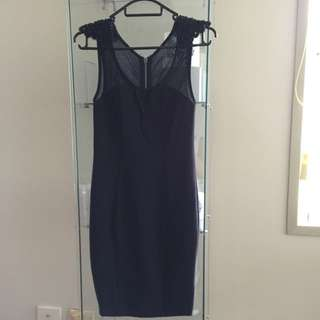 Tight, Black Dress, Clubbing