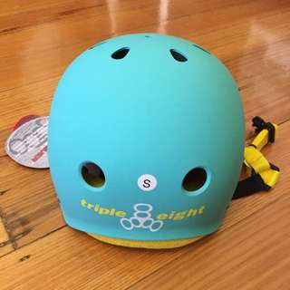 BNWT Triple Eight Helmet