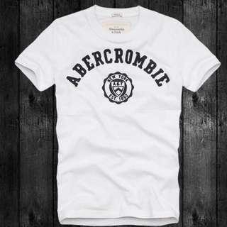 Abercrombie&Fitch 棉短tee
