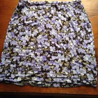 WRANGLER cotton Mini Skirt