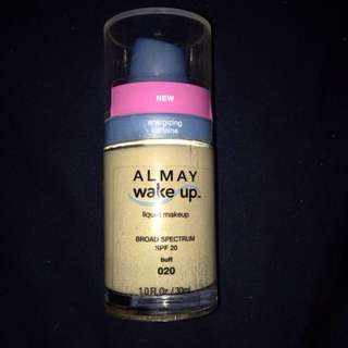 Brand New Almay Wake Up Foundation In Buff