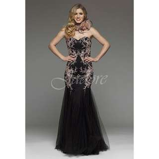 Jadore Black Stunning Dress
