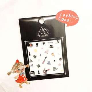 3ce可愛小物-彩繪美甲貼