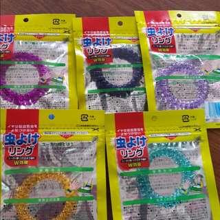 日本防蚊手環