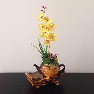 Chinese Antique Teapot Style Flower Pot