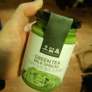 韓國오설록.O'SOLLOC 綠茶牛奶醬