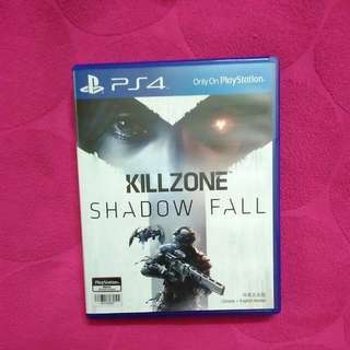 PS4 Used Game Kill Zone Shadow Fall