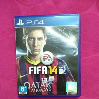 PS4 Used Game. FIFA14