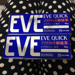 日本 EVE 頭痛藥