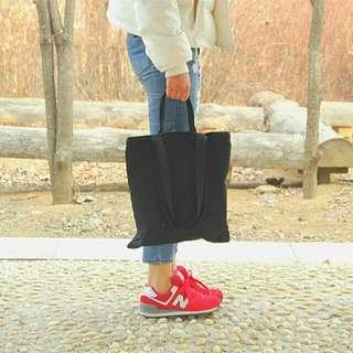 👜文青✏簡約素色 手提肩背 高磅帆布袋 (雙帶or單帶) 馬卡龍色 彎帽 adidas nike jordan gildan 權志龍 參考