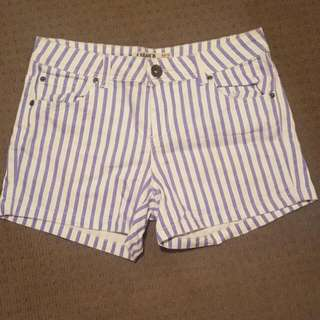 Stripe Shorts - Size 10