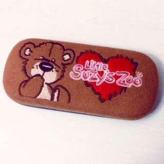 Suzy's zoo 眼鏡盒 內有小鏡子