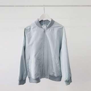韓國ma1飛行外套💕灰藍