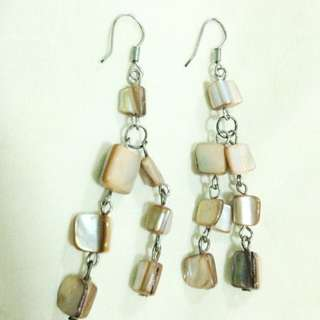 Glossy Stones Earring