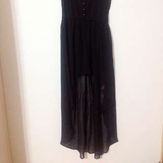 🚚 歐美瘋 長洋裝 Australian Summer Black Casual Dress