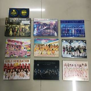 Girls' Generation Japanese Print Albums