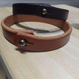 Brand New Leather Wristband