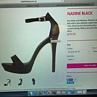 Lipstick Worn Once Maxine Black