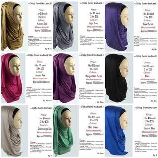 Glitz Semi instant shawl