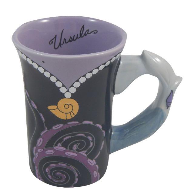 迪士尼正版烏蘇拉絕版杯子
