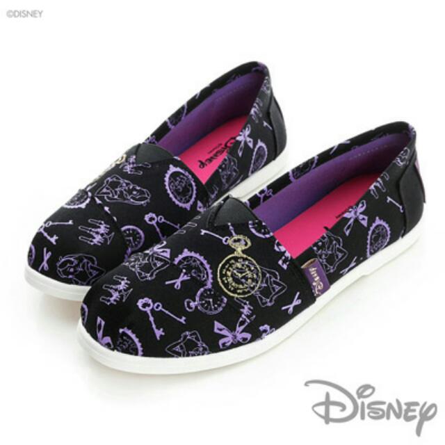 迪士尼 愛麗絲 懶人鞋