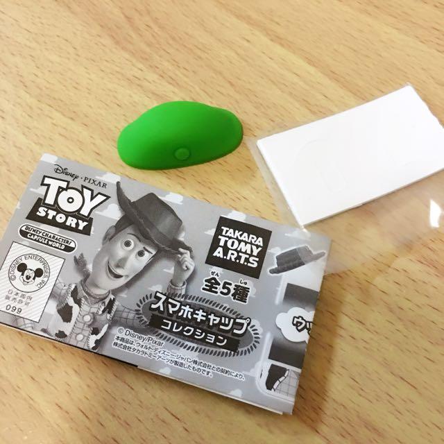 玩具總動員 綠兵 手機裝飾 綠兵帽子
