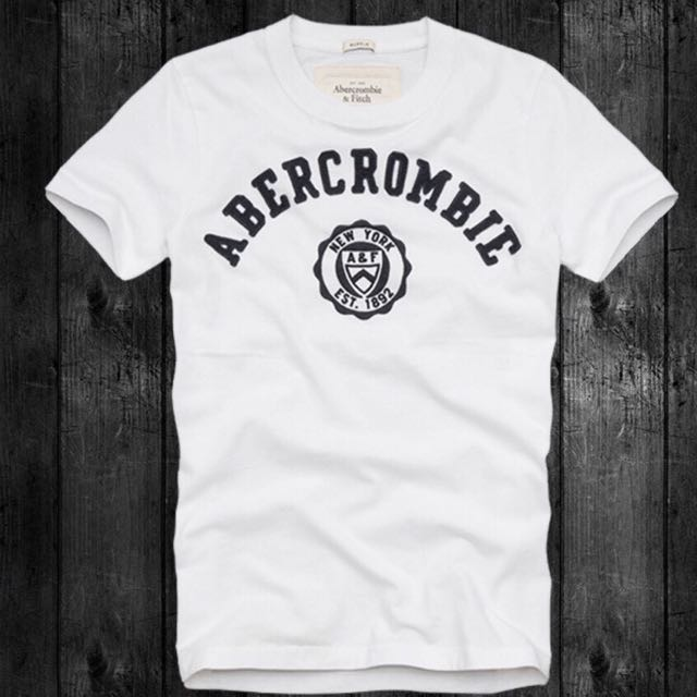 Abercrombie&Fitch 棉短tee
