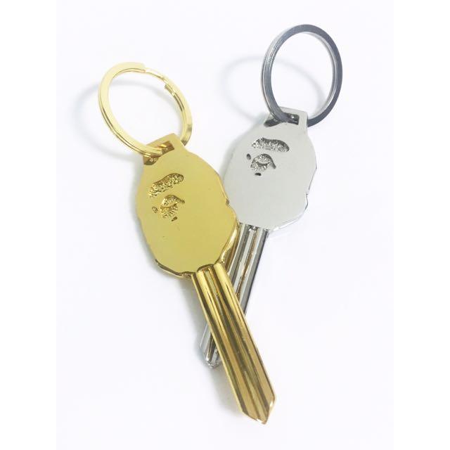 APE 造型鑰匙 金&銀