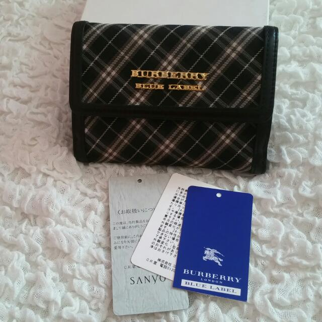 f7a47e846c80 Burberry Blue Label Short Wallet (Only Available in Japan)