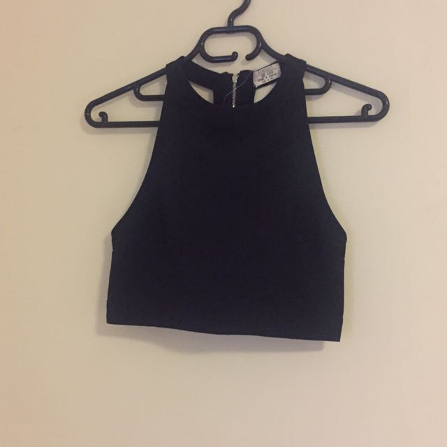 Crop Top With T Bar Back Runaway The Label Size Xs