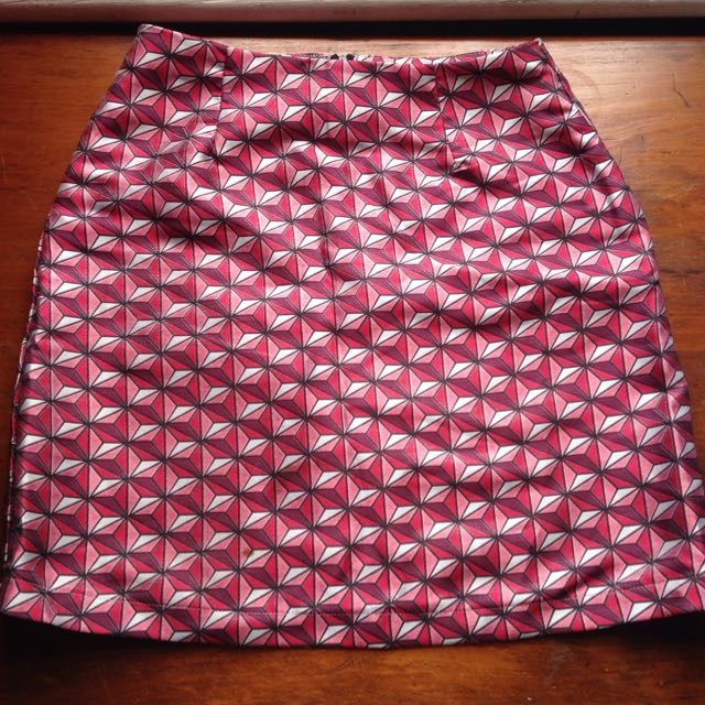 Dangerfield Retro Mini Skirt