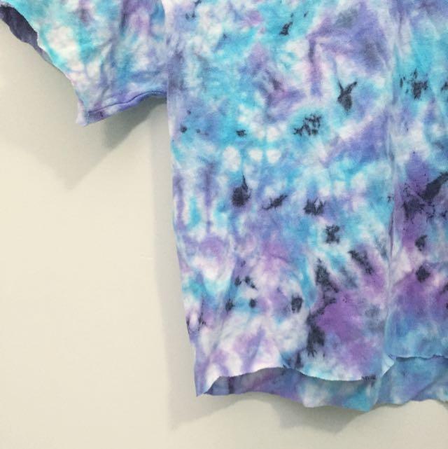Handmade Tie-Dye Crop Top S