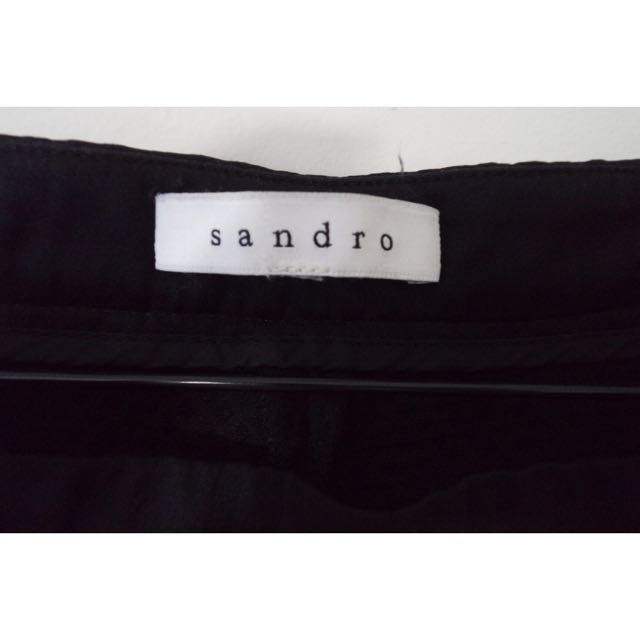 Sandro high waisted shorts