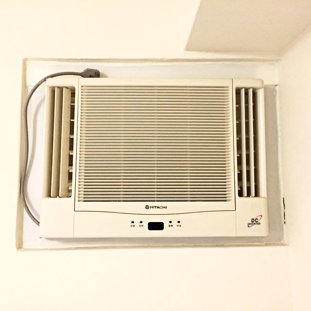 Hitachi 雙吹窗型冷氣