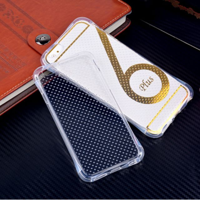 Luxury Ultra-thin Shockproof Armor Clear Case Cover for Apple iPhone 6 6S