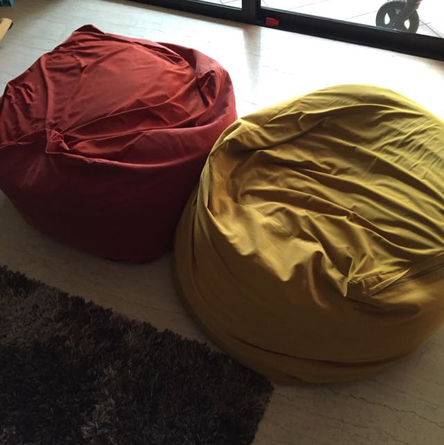 Muji Bean Bags Home Furniture On Carousell