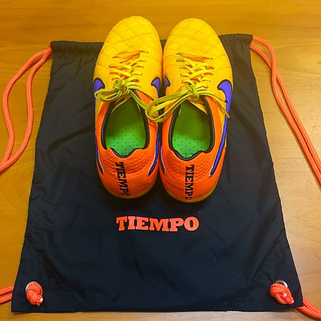 brand new 1f169 5407f Nike Tiempo Legend 5 Orange, Sports on Carousell