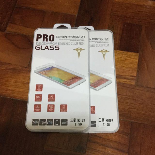 三星note3 9H耐刮防暴玻璃貼膜
