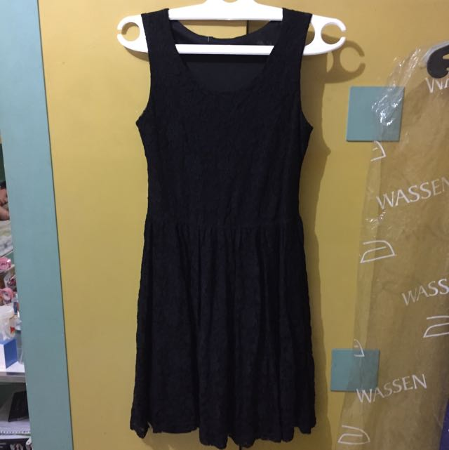 Preloved Black Dress