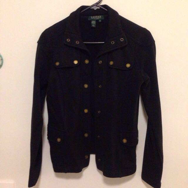 Ralph Lauren Black Jacket - Size 6