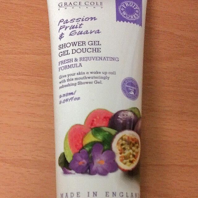 Shower Gel Gel Douche Passionfruit And Guava Grace Cole