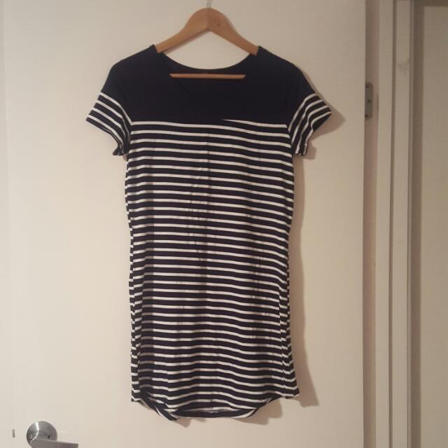 Size 8 Stripe Dress