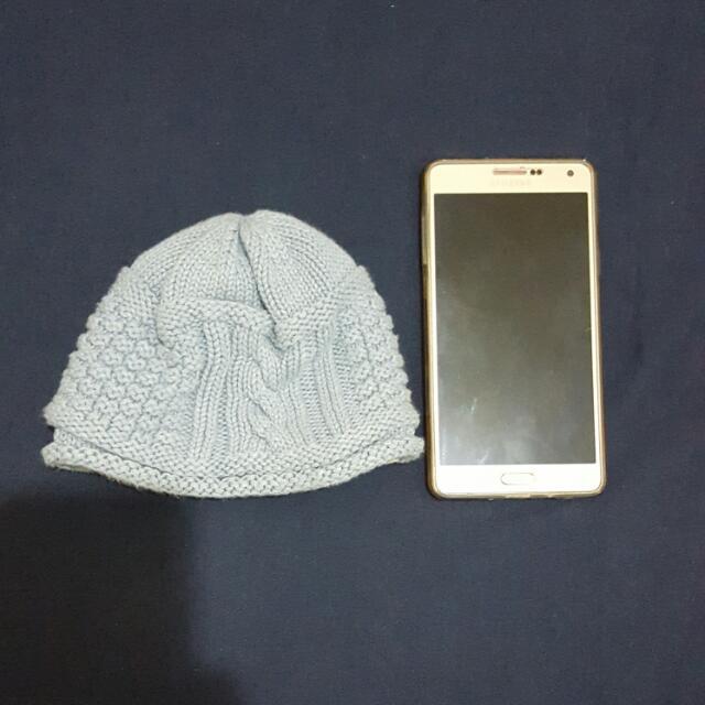 【代售】toshi水藍毛帽