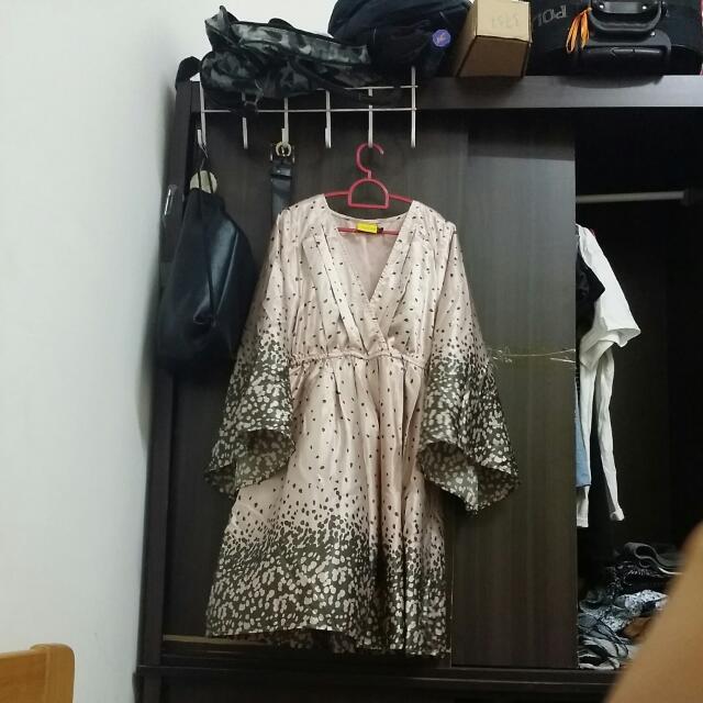 UPFRONT casual kimono