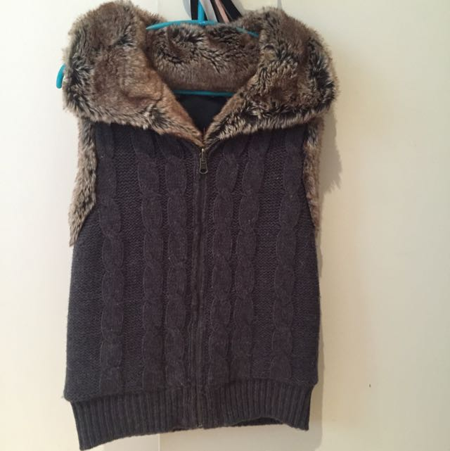 Wish Faux Fur Vest